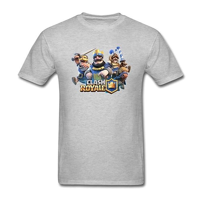 Alma Harriet Men's Clash Royale Game Poster T Shirt XXXXL