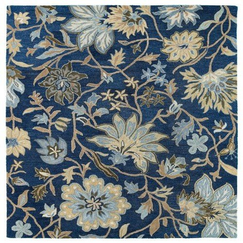 Kaleen Rugs Brooklyn Collection 5304-17 Blue Hand Tufted 9'6