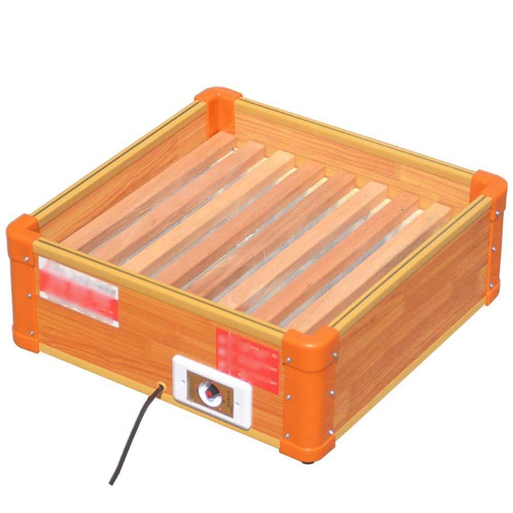 Acquisto Riscaldatore QFFL, Stufa a Legna da braciere elettrica da Tavolo in Legno massello Raffreddamento e Riscaldamento Prezzi offerte