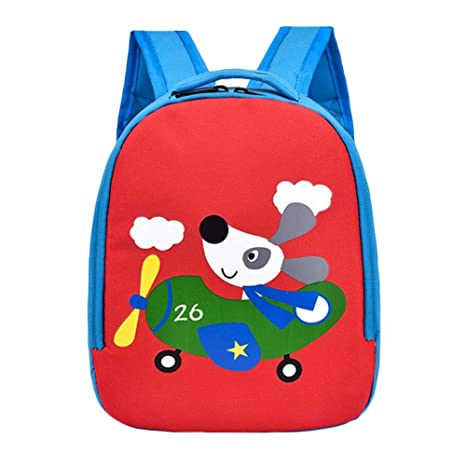 Adminitto88 - Mochila escolar para guardería, mono o mochila para niños, para guardería,