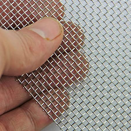 Stainless Steel 304 Wire Mesh, 30cm square sheet (20 mesh) Insect Mesh Pest Contol Mesh Garden Wire Mesh Replacements Cabinets Wire Mesh Window Screen Mesh Anping senming wire mesh Co. Ltd.