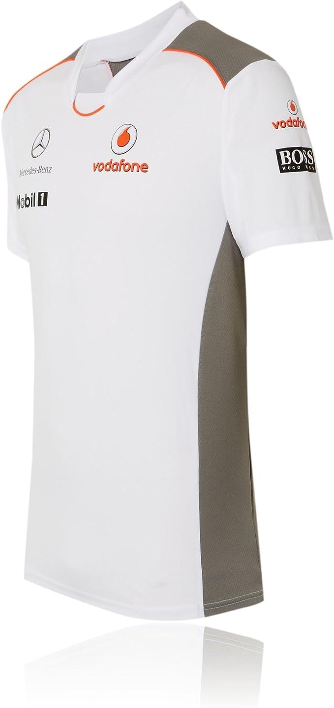 McLaren Vodafone Mercedes Team – Camiseta de Fórmula 1 Button ...