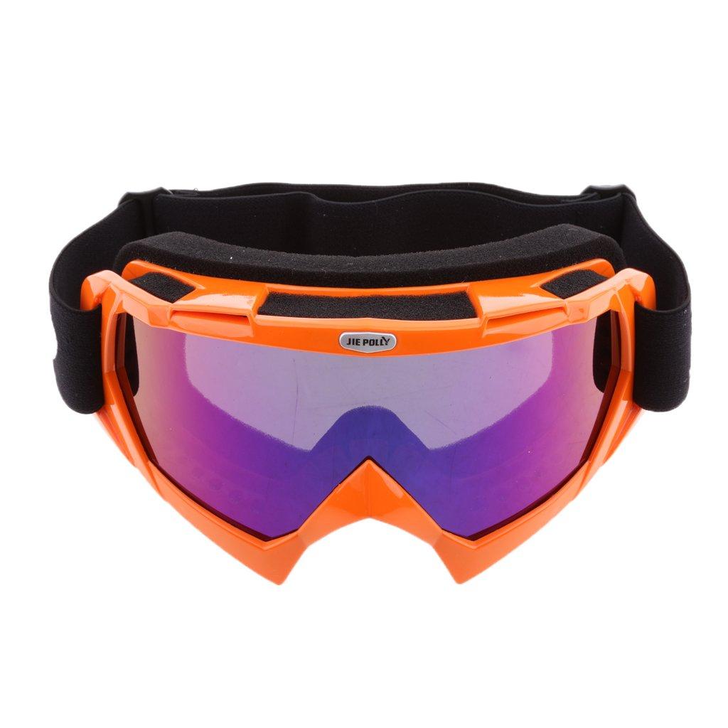 Sharplace Gafas de Motoristas Protección de Rayos UV Polvo para Deportes a Aire Libre Esquí - Verde
