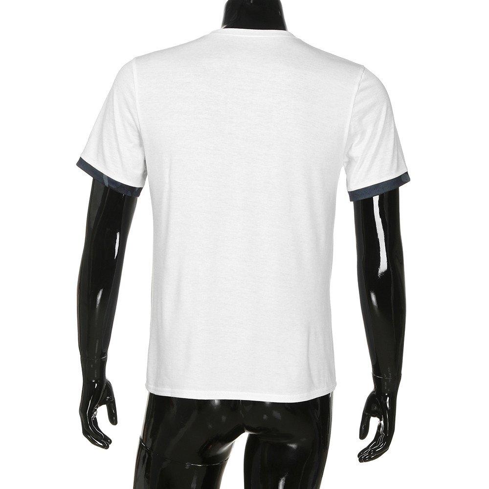 Camiseta musculosa para Hombre Blusa Delgada de Bolsillo de Camuflaje Manga Corta Casual por Internet: Amazon.es: Ropa y accesorios