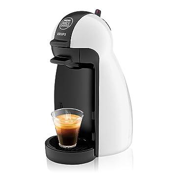 Krups KP 1002 Nescafé Dolce Gusto Piccolo - Cafetera, color blanco: Amazon.es: Hogar