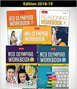 Buy Class 7: Work Book and Reasoning Book Combo for NSO-IMO-IEO-NCO