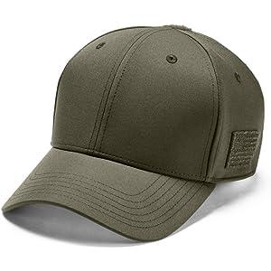 a59fb5c7522 Amazon.com  Under Armour Men s Friend Or Foe Stretch Fit Cap