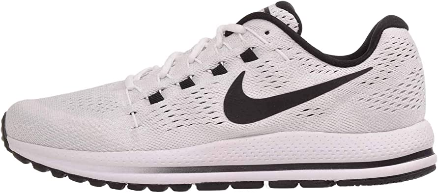Nike Mens Air Zoom Vomero 12, White/Black-Pure Platinum, 15 M US: Amazon.es: Zapatos y complementos
