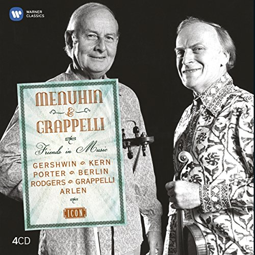 Friends in Music - Menuhin and Grappelli, Set 4CD (Improvised Music)