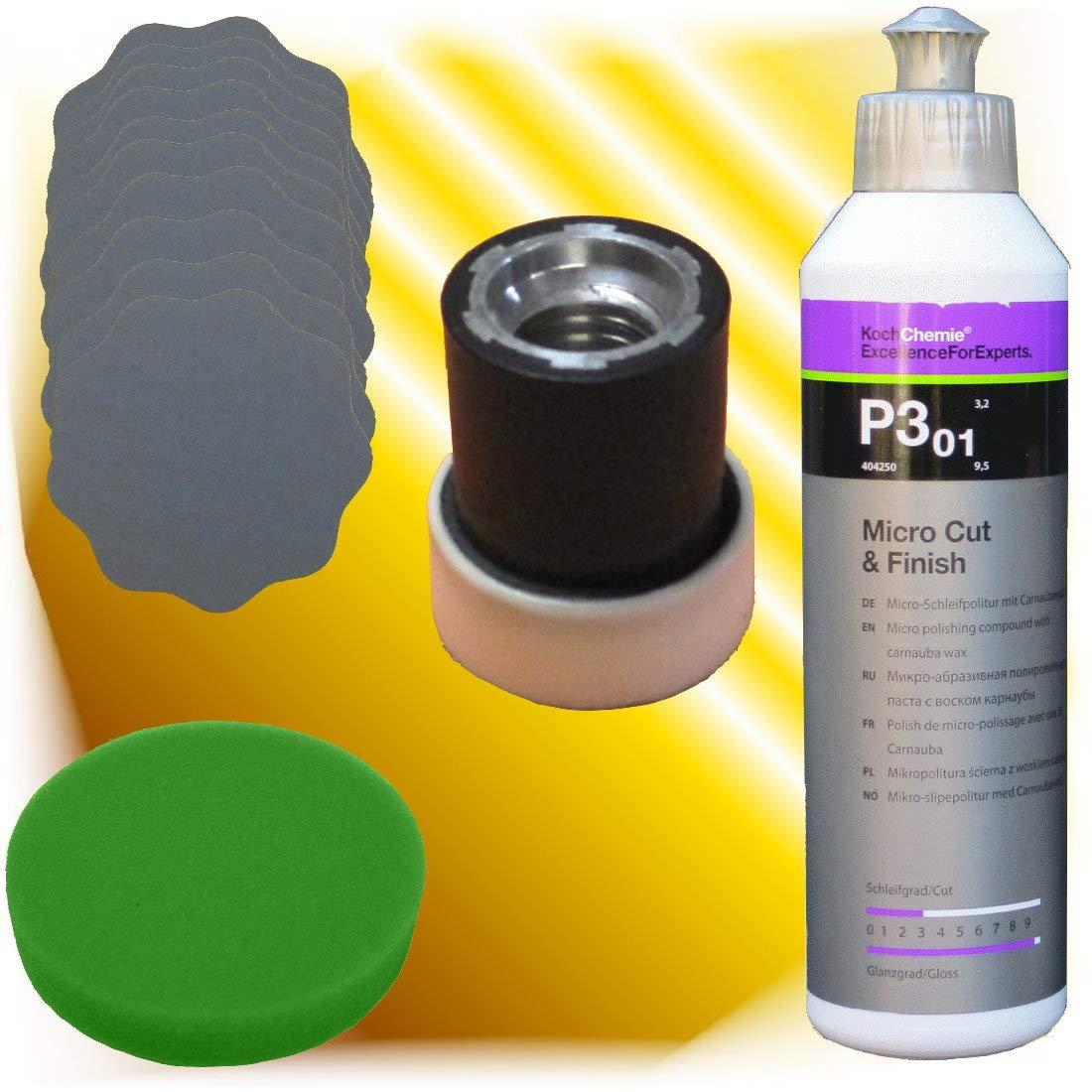 Koch Chemie Schleifpolitur 10 X Schleifblüten Pad Polierteller Set Gewerbe Industrie Wissenschaft
