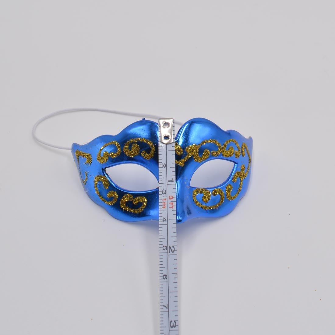 Yiseng Mini Masquerade Mask Party Decoration 10pcs Set Supper Small Masks Mardi Gras Halloween Party Decor Novelty Gifts
