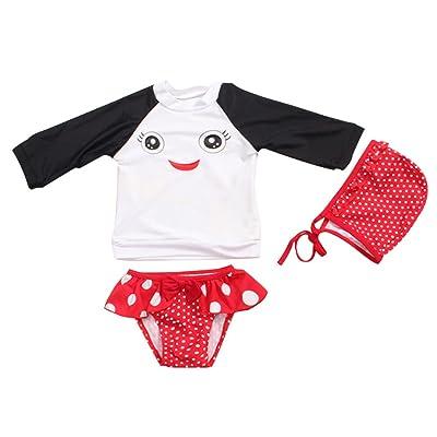 d24d2d528e8a3 IEason Kids Girls Baby Knitted Sweater Winter Princess Romper ...