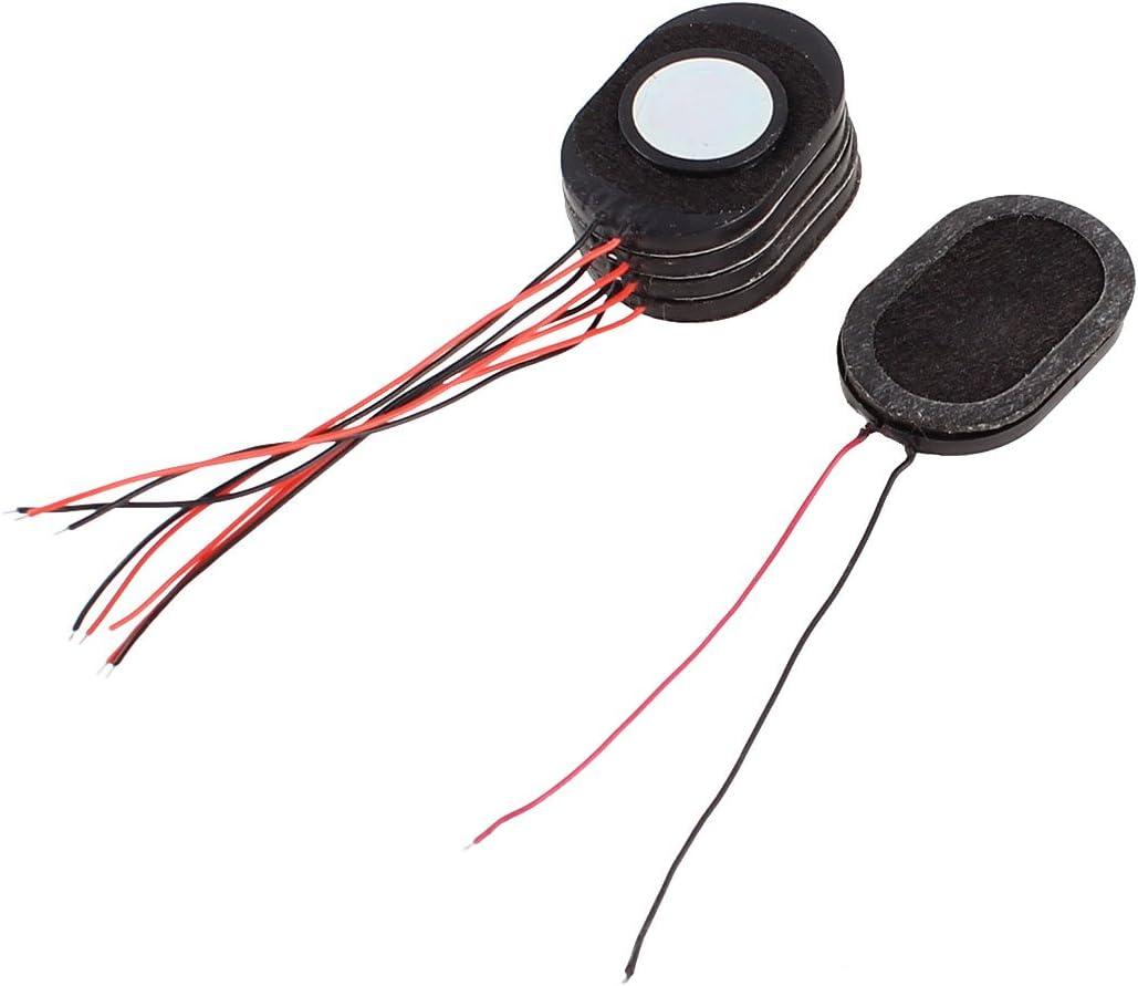 uxcell Repair Part Internal Speakers Magnet 30x20mm 2500Hz 8Ohm 1W for PC Laptop 5 Pcs