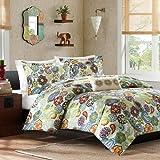 Mi-Zone Tamil Comforter Set Color, Multicolor, King