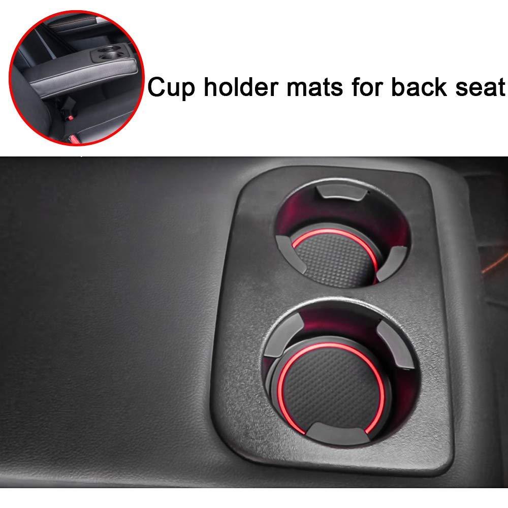 Keep-Lighting Door Liner Cup Holder Liner Accessories for 2018 2019 Subaru Crosstrek and Impreza Anti-dust Door Mats Gate Door Liners Inserts Custom Fits Interior Accessories Pack of 14