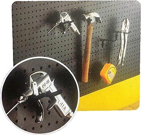Negro Soporte de pared de rosca Soporte para herramientas ...