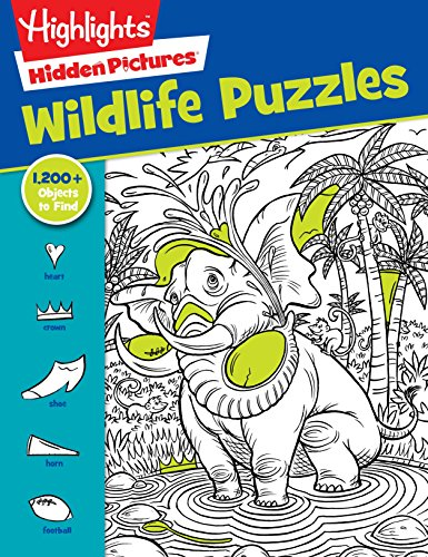 Animal Puzzles Picture - Wildlife Puzzles (HighlightsTM  Hidden Pictures®)