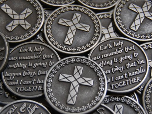 Set of 10 Lord Help Me Remember Pocket Token (Religious Coins)