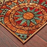 Mohawk Home Strata Caravan Medallion Multi Rug, 2′ x 5′ Review