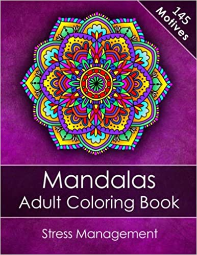 Amazon.com: Mandalas Adult Coloring Book: Stress Management ...