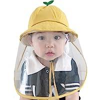 Face Shield Cotton Packable Sun Hats Dust Proof Packable Sun Hats Shield for Dust, Outdoors, Sports, Protection Sun Hat…