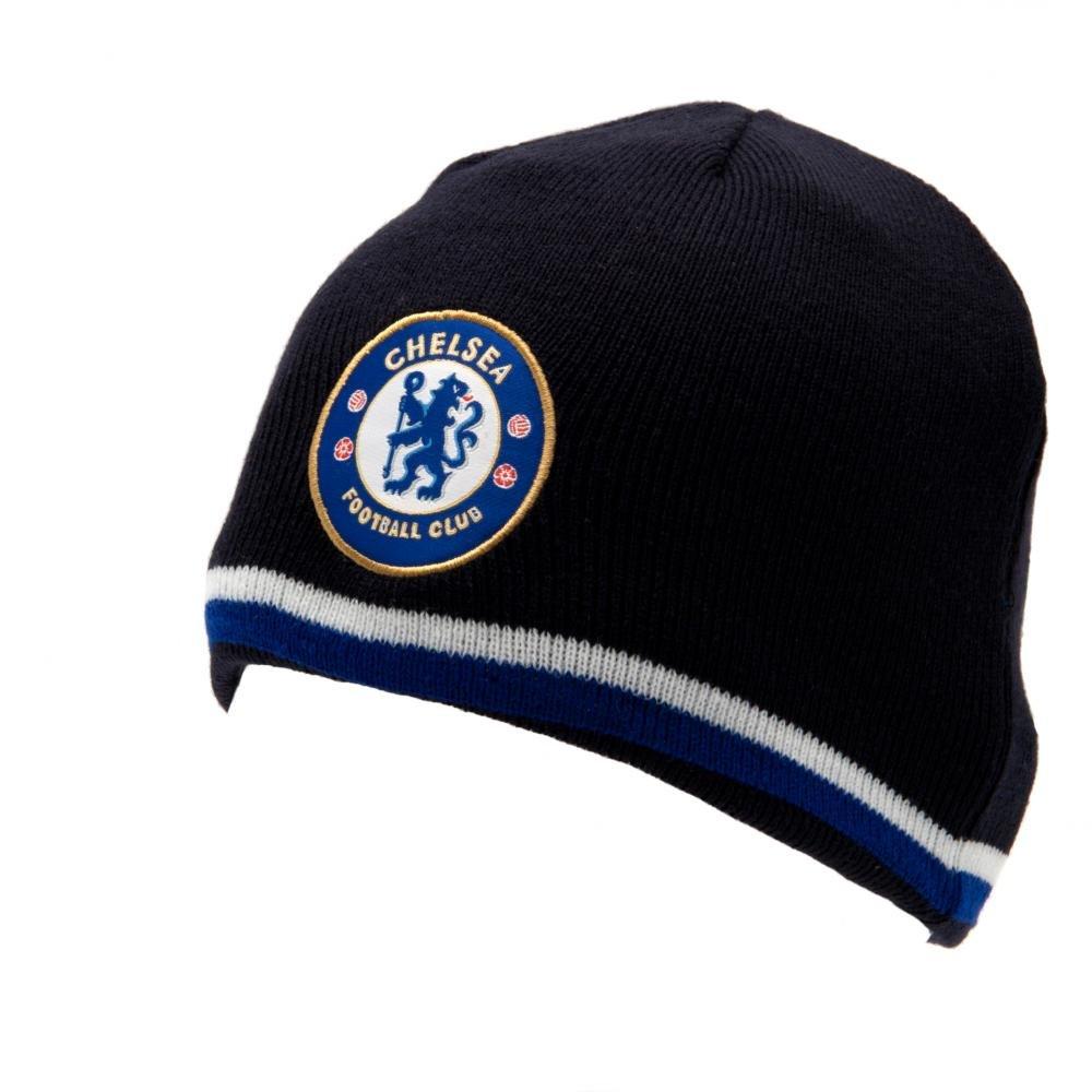 Amazon.com   Chelsea FC Reversible Knitted Hat   Ski Helmets   Sports    Outdoors 77780cbb7