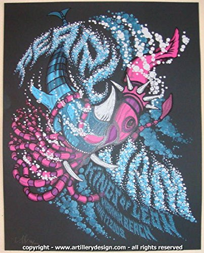 2008 Pearl Jam - Virginia Beach Concert Poster by Brad Klausen