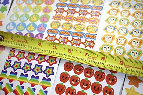 Review 5800 pcs Teacher Stickers