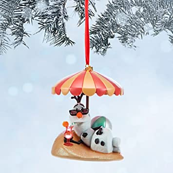 Amazon.com: Disneys Frozen Olaf Sketchbook Ornament: Home & Kitchen