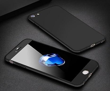 79a624333c iPhone8ケース iPhone7ケース 全面保護 強化ガラスフィルム 360度フルカバー 衝撃防止 アイフォン