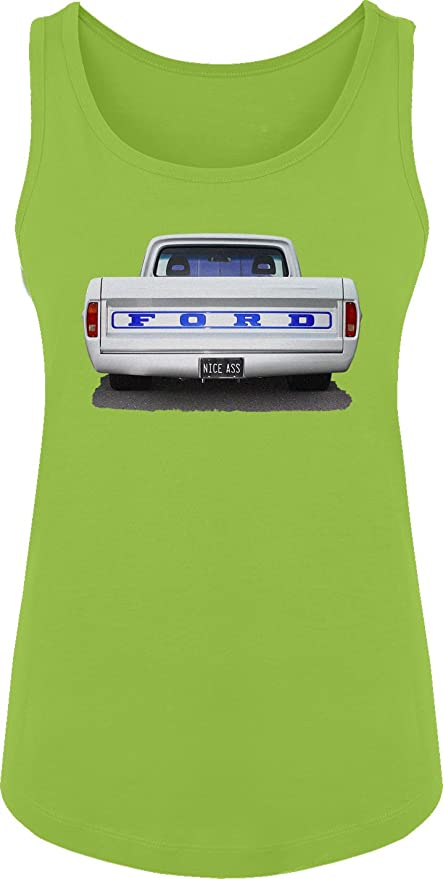 Amazon.com: BSW Women's Nice Ass Ford Truck Classic Car Muscle Hot Rod  Tank: Clothing