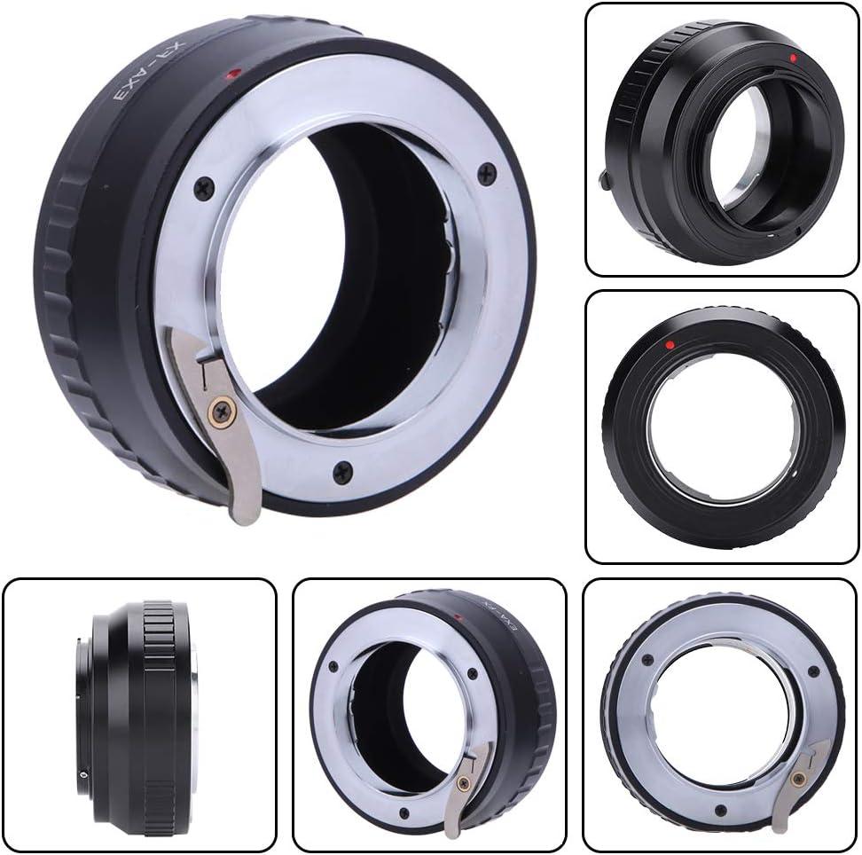 Serounder Manual Lens Mount Adapter Ring,EXA-FX Manual Focusing Alloy Adapter Ring for Exakta Lens for Fuji X Mount Mirrorless Camera,Manual Operation//Lnfinite Focus