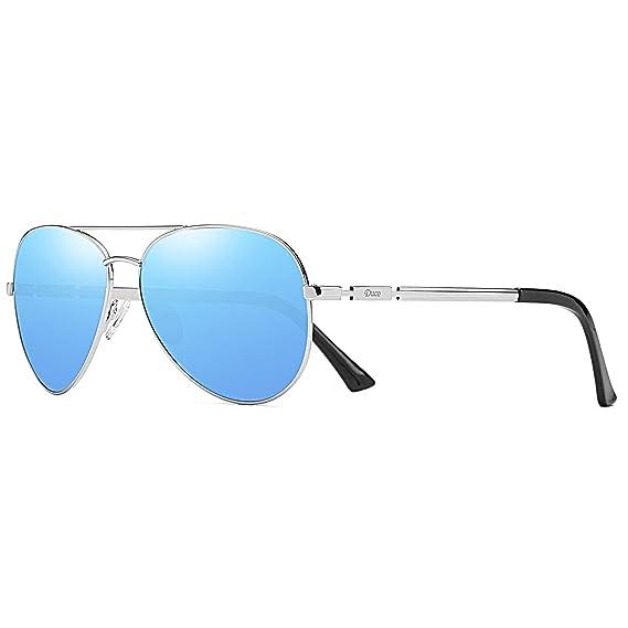 Duco Cool Piloto vidrios gafas de sol clásico unisex gafas piloto espejo UV400 filtro categoría 3 CE 3025K