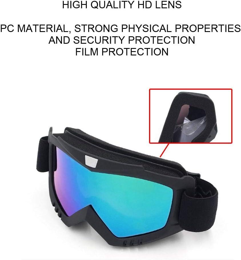 MYA Casque De Ski,Masque D/étachable Casque De Ski,R/églable Casque De Ski avec Visiere pour V/élo,Moto,Motocross