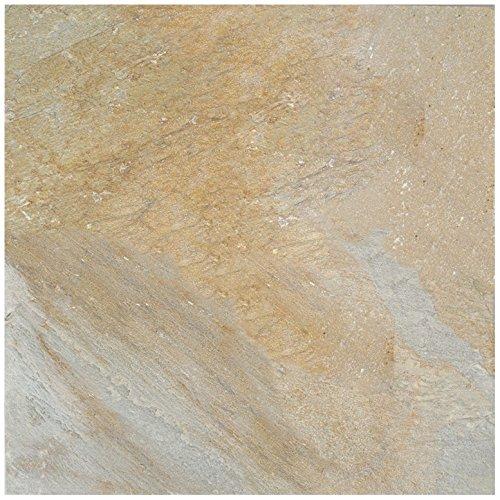 Dal-Tile S78316161P Slate Tile Golden Sun Natural Cleft x 6 1/2