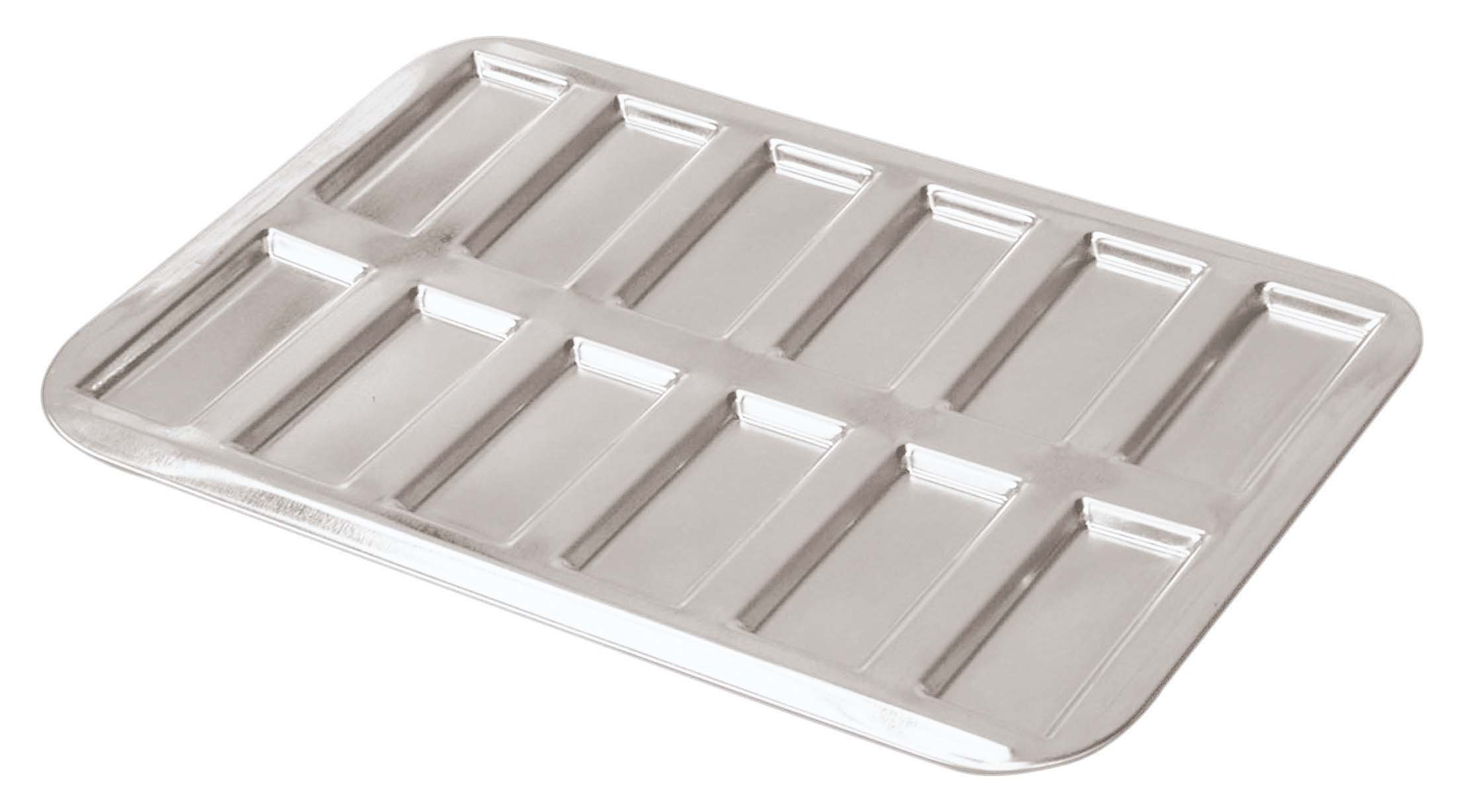 Paderno World Cuisine Financier Mold, Tin, Silver