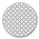 Uneekee Azulejo Blossoms Lazy Susan: Large, pure birch wooden Turntable Kitchen Storage