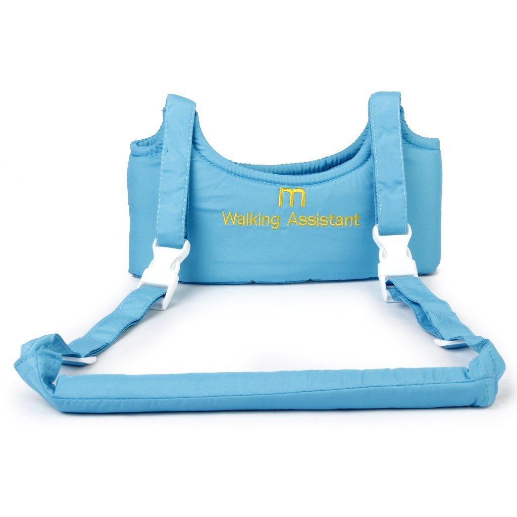 MaltonYO17 Arnés de aprendizaje para bebé, color azul cielo