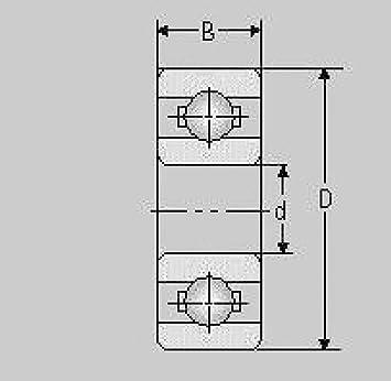 20 Stück 608 ZZ 8x22x7 mm Kugellager Miniaturkugellager 2Z Rillenkugellager