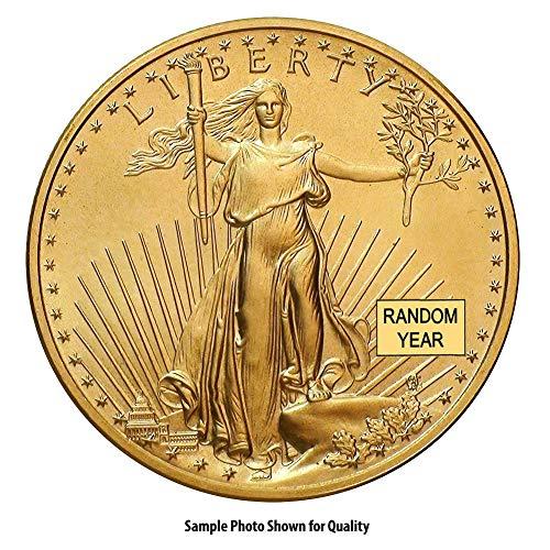 Rare Coin Gold (1986 - Present 1oz American Gold Eagle $50 Brilliant Uncirculated Random Year)