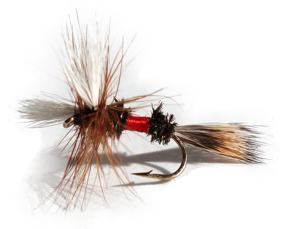Flies Direct Royal Wulff Assortment Trout Fishing Flies (1-Dozen) by Flies Direct