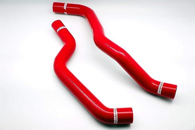 Autobahn88 Kit de la manguera del líquido refrigerador del radiador, modelo ASHK333-Rd (rojo-sin la abrazadera fijada): Amazon.es: Coche y moto
