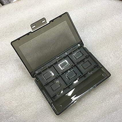 JZK® Plastic Nintendo Switch juego Caja de almacenamiento del titular de la tarjeta estuche de transporte Para 11 cartuchos de juego Y 2 tarjetas micro SD: Amazon.es: Videojuegos
