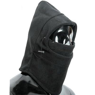 6 in 1 Thermal Fleece Balaclava Hood Police Swat Ski Bike Wind Stopper Mask