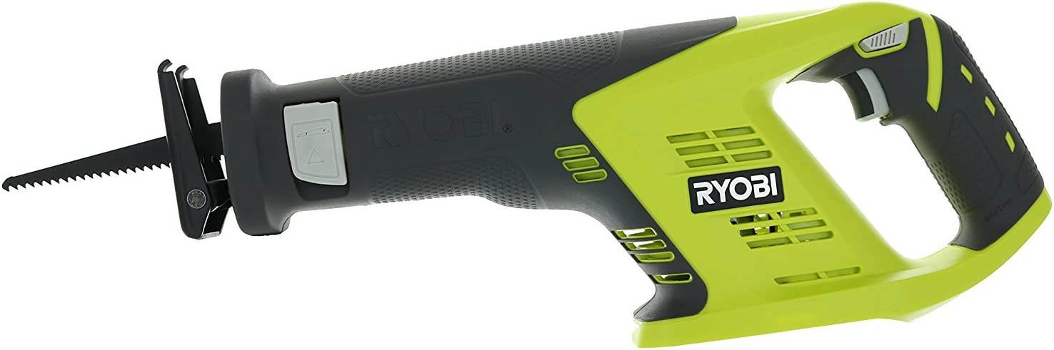 4. Ryobi P515 One+ 18V 7/8 Inch Stroke Length 3,100 RPM Lithium Ion Cordless Reciprocating Saw