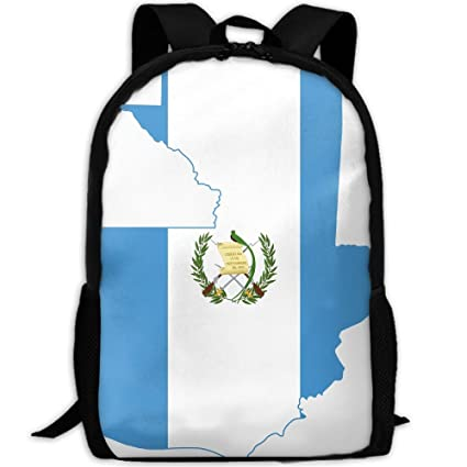 f9f8015f6937 Amazon.com: Bright-colored Flag Glorious Map Of Guatemala Unisex ...