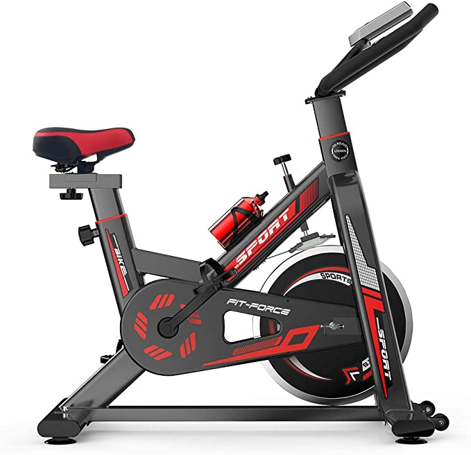 FIT-FORCE Bici Spinning inercia hasta 16kg Modelo X16: Amazon.es: Deportes y aire libre