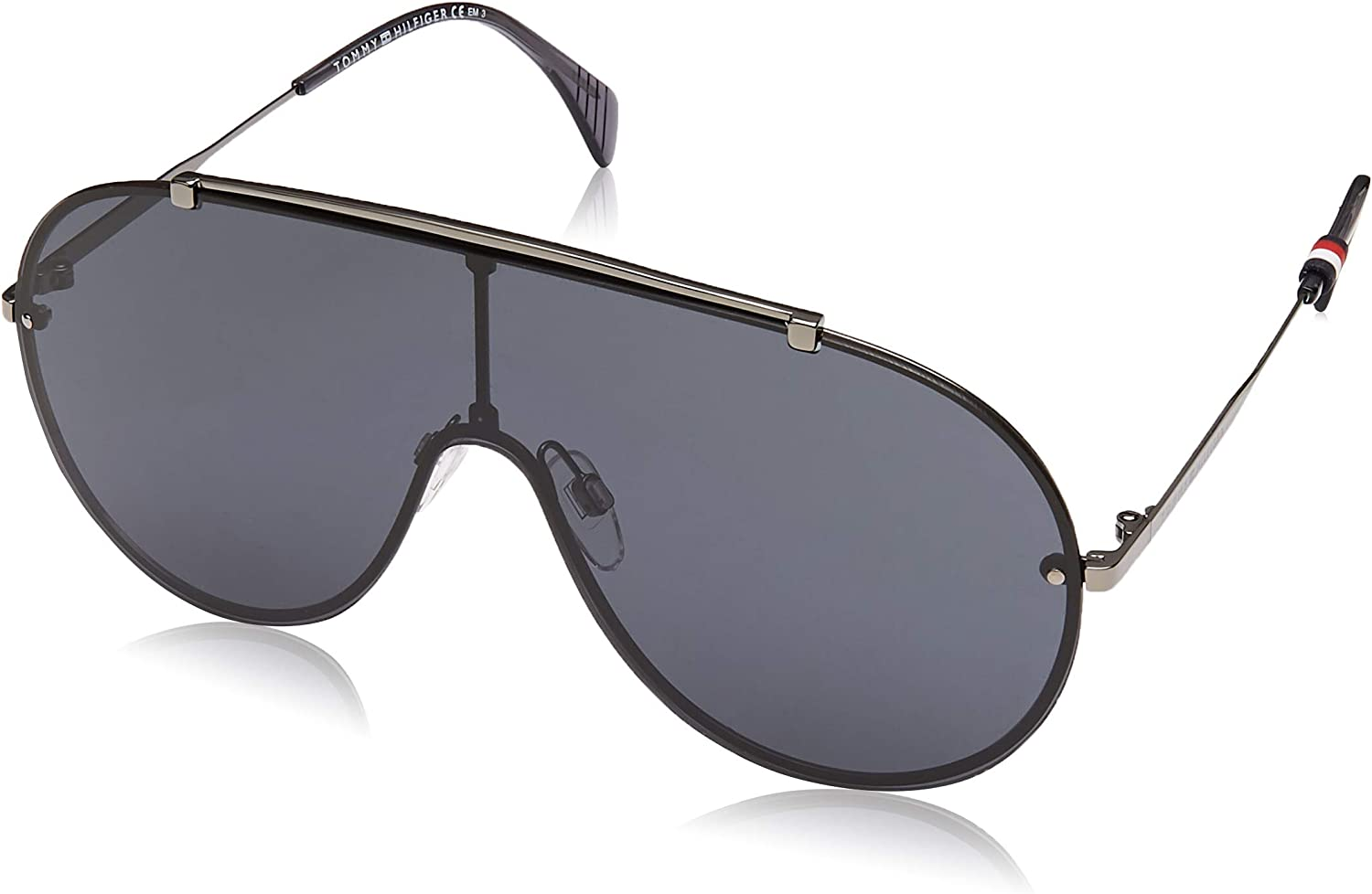 Grey 99 Tommy Hilfiger Unisex Adults/' Th 1597//S Sunglasses Multicolour
