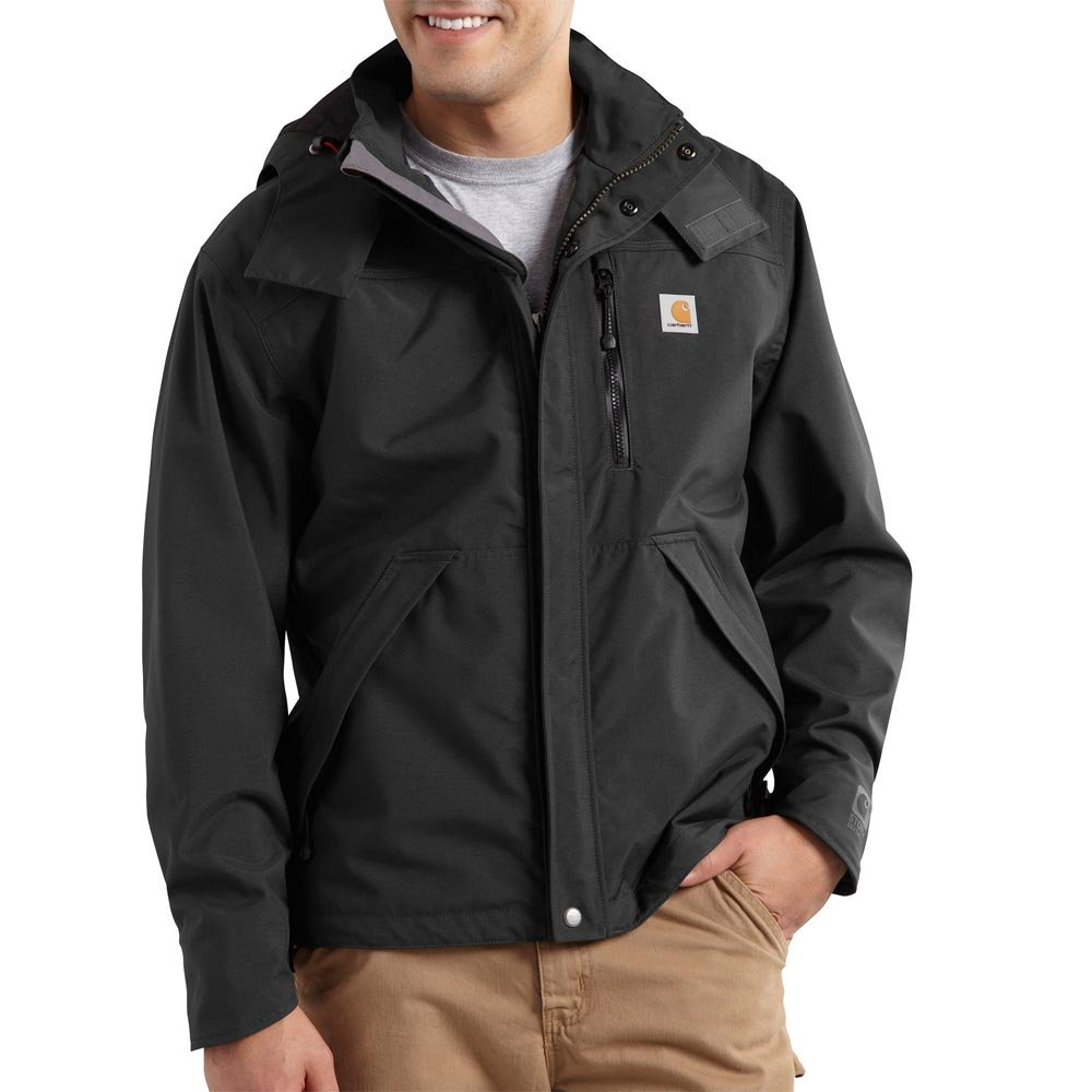Carhartt Men's J162 Shoreline Jacket - Large Regular - Black by Carhartt