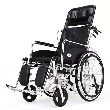 DPPAN Drive Medical Transport Silla de ruedas Plegado liviano, aleación de aluminio que eleva los
